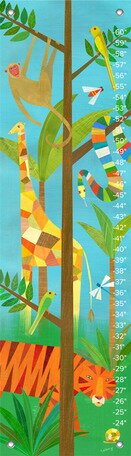 Giraffe In The Jungle Growth Chart by Oopsy Daisy