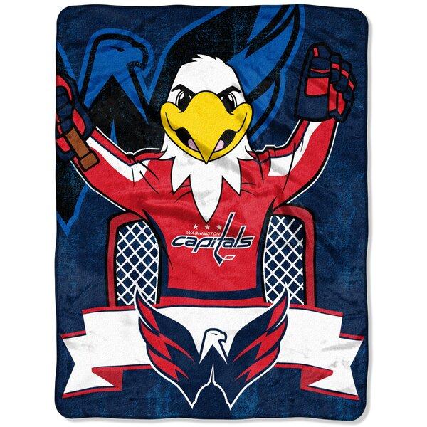 NHL Washington Capitals Mascot Throw by Northwest Co.