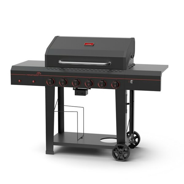 6-Burner Propane Gas Grill - 720-0983 by Megamaster