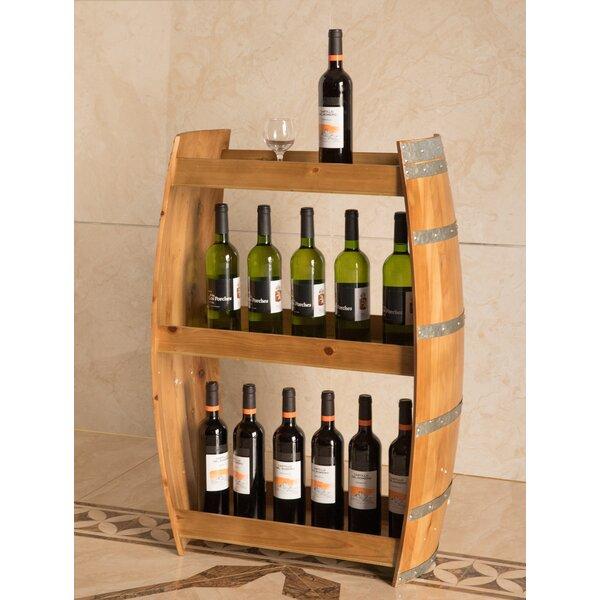 Boaman 24 Bottle Floor Wine Bottle Rack by Loon Peak