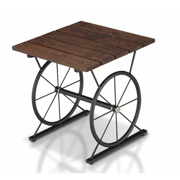 Aranda Wood End Table by Williston Forge