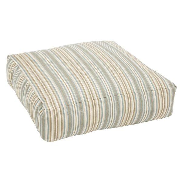 Cavisson Indoor/Outdoor Sunbrella Floor pillow by Rosecliff Heights