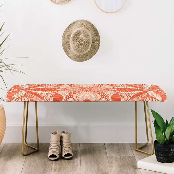 Jenean Morrison Leave Me Be Upholstered Bench by East Urban Home