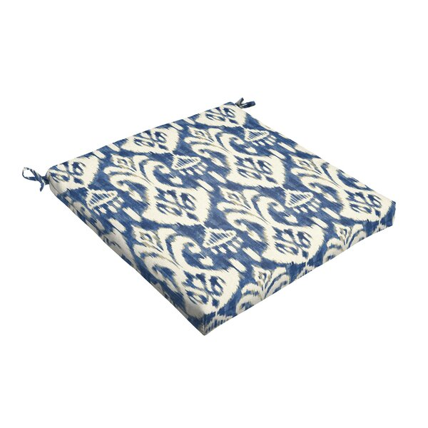 Indoor/Outdoor Dining Chair Cushion by Fleur De Lis Living
