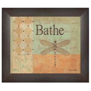 'Bathe' Printed Framed Wall Art by Trendy Decor 4U