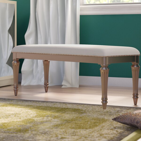 Sylvester Wood Bench by Willa Arlo Interiors