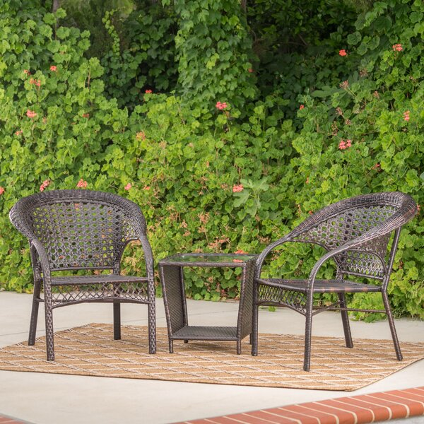 Diana 3 Piece Seating Group by Ophelia & Co.