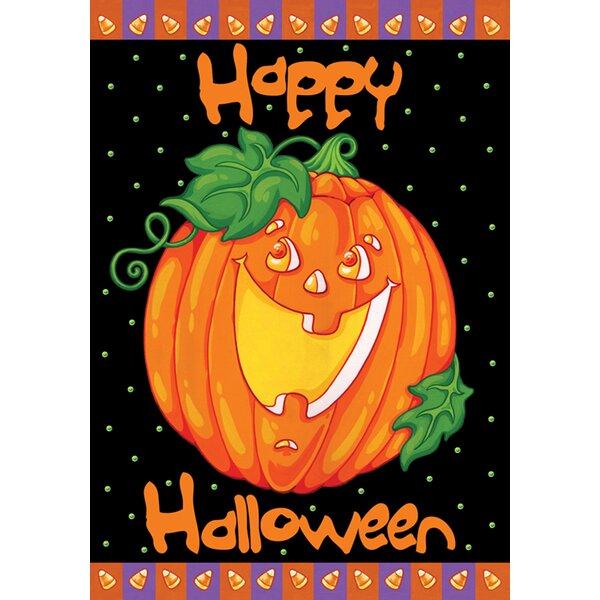 Happy Halloween Garden flag by Toland Home Garden