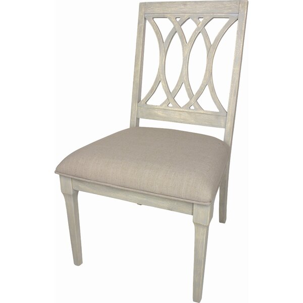 Richland Upholstered Dining Chair (Set of 2) by Rosecliff Heights