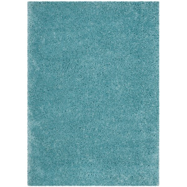 Hermina Light Turquoise Area Rug by Willa Arlo Interiors