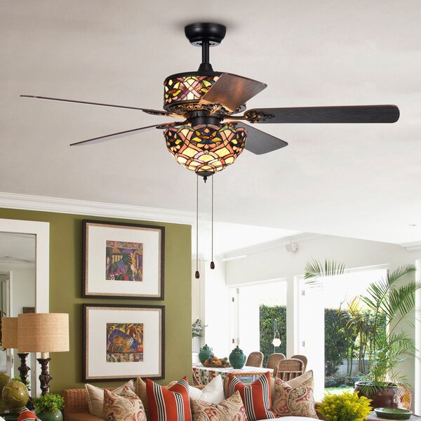 52 Longstreet 5 Blade Ceiling Fan by Astoria Grand