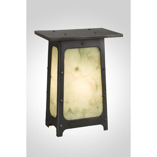 Price Check 1-Light Outdoor Flush Mount By Steel Partners