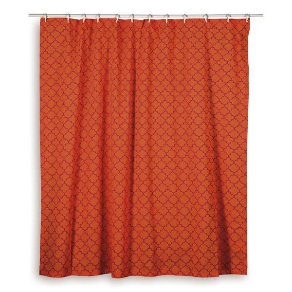 Charleena  Cotton Shower Curtain by Wildon Home ®