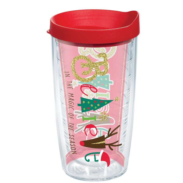 Holiday Believe Plastic Travel Tumbler by Tervis Tumbler