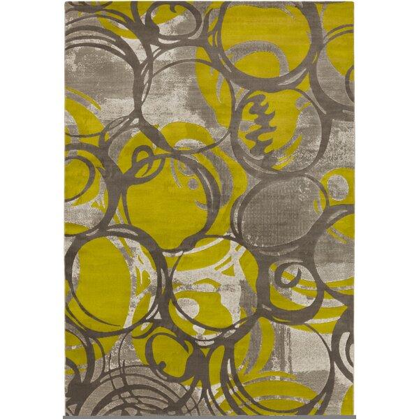 Gagnier Olive/Gray Area Rug by Zipcode Design