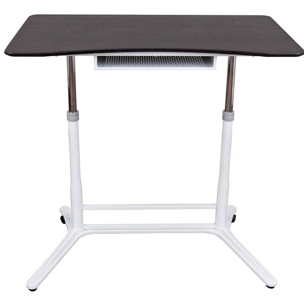 Kuhn Height-Adjustable Standing Desk by Symple Stuff