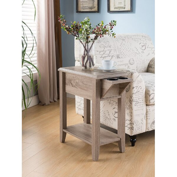 Anaiya End Table With Storage By Winston Porter