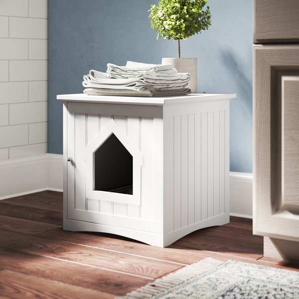 Freda Cat Home Litter Box Enclosure by Archie & Oscar