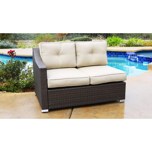 Leib Patio Sectional with Cushions by Latitude Run