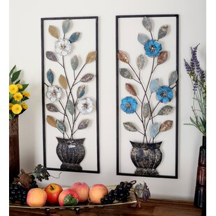 2 Piece Metal Wall Décor Set