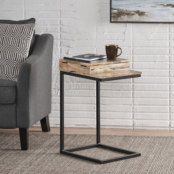 Review Darcy End Table With Storage