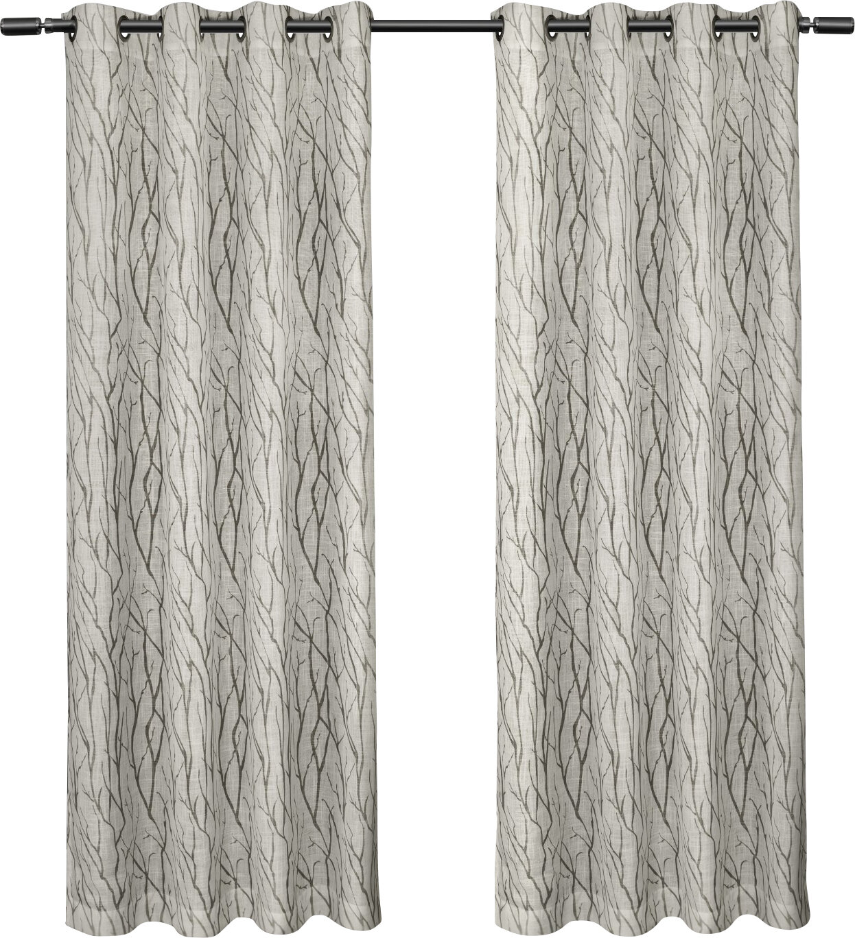 size curtains large coral grommet awesome sheer best with design ideas phenomenal interior of gray grommets curtain tsumi
