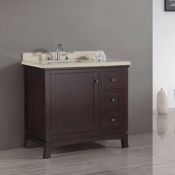 Valega 36 Single Bathroom Vanity Set by Ove Decors