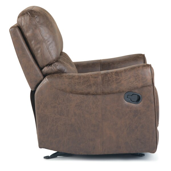 Damarion Manual Glider Recliner by 17 Stories