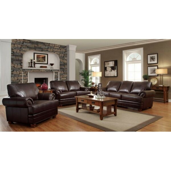 Hawkesbury Common 3 Piece Living Room Set by Alcott Hill