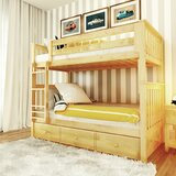 Wardingham Bunk Bed with Drawers byHarriet Bee