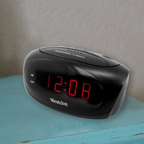 Electric LED Alarm Clock by Ebern Designs
