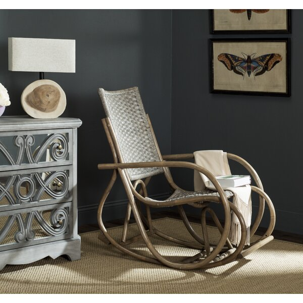 Reis Rocking Chair by Bay Isle Home