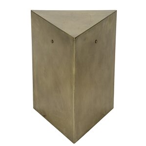 Triangle End Table by Noir