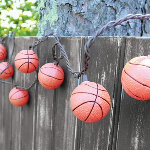Buying 10-Light 7.5 ft. Basketball String Lights By DEI