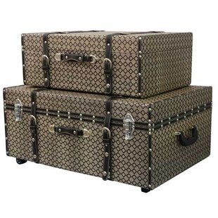 Millett 2 Piece Texture Trunk Set by Alcott Hill