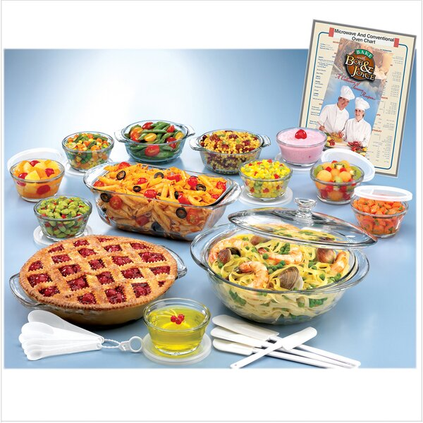 Expressions 25 Piece Bakeware Set by Anchor Hocking