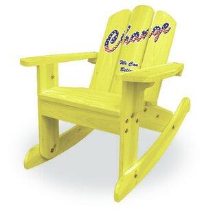 Kids Rocking Chair ByLohasrus