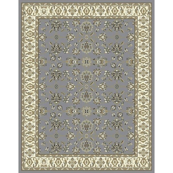 Fanelli Gray/Olive Area Rug by Charlton Home