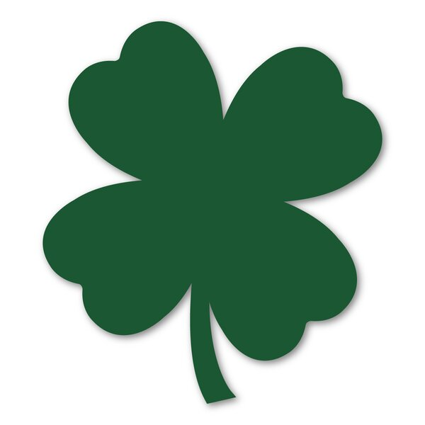 Four Leaf Clover Magnet by The Holiday Aisle