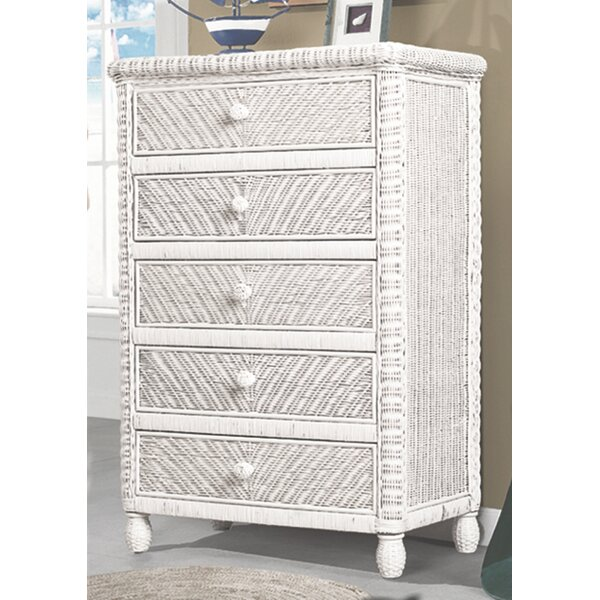 Alicia 5 Drawer Chest by Bay Isle Home