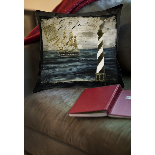 Timeless Voyage 2 Printed Throw Pillow by Manual Woodworkers & Weavers