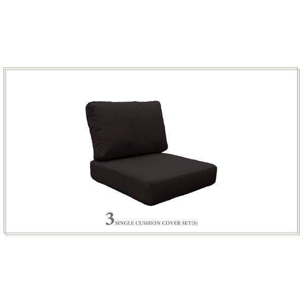 Coast 6 Piece Outdoor Lounge Chair Cushion Set