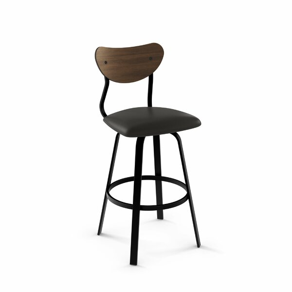 Demko 43 Swivel Bar Stool by Brayden Studio