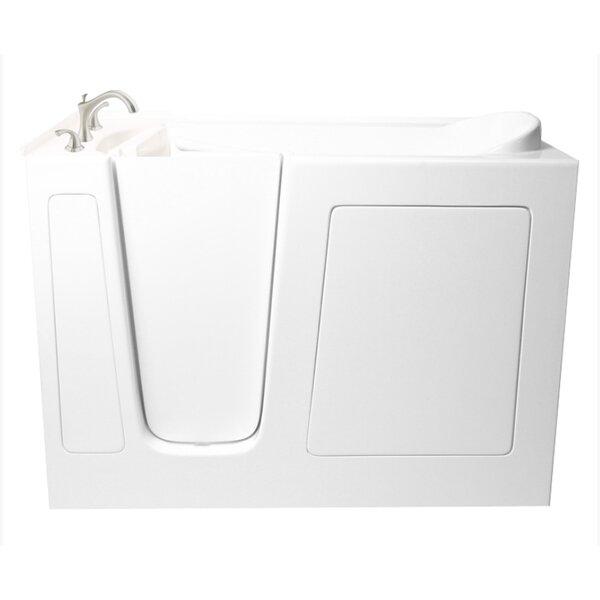 60 x 26 Dual Whirlpool Bathtub by Ariel Bath