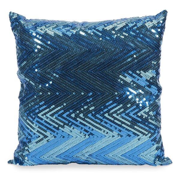 Kuzmenko Sequin Throw Pillow by Latitude Run
