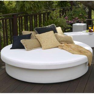 Great SunPad Round Resort Patio Daybed