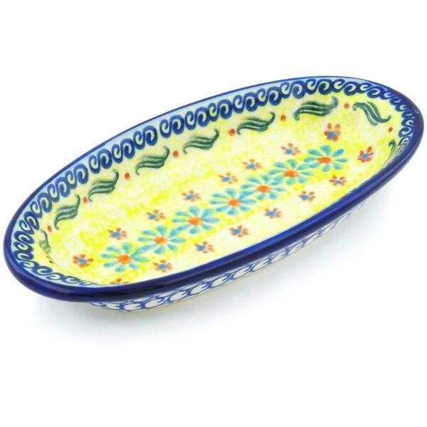 Sunshine Blooms Condiment Platter by Polmedia