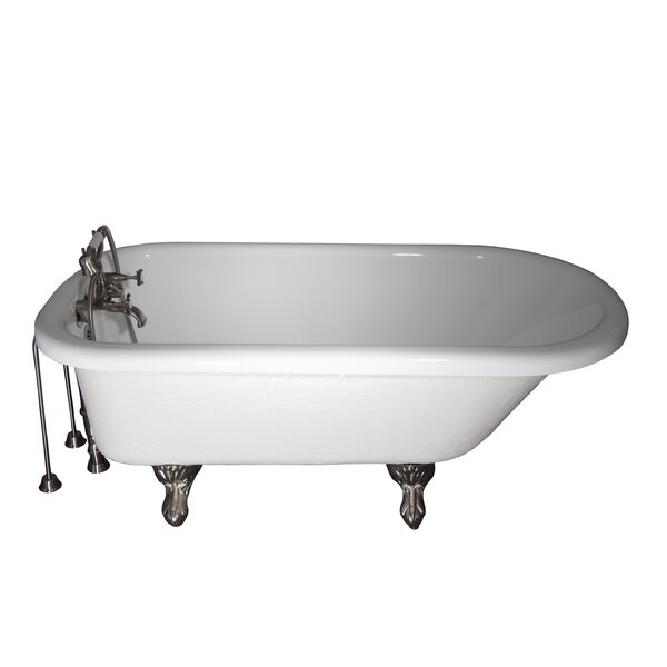 67 x 25.5 Soaking Bathtub Kit by Barclay