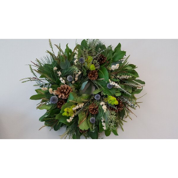 18 Echinops Wreath by From the Garden