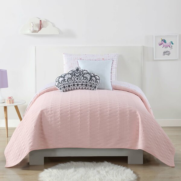 Brunelle Quilted Blanket by Harriet Bee